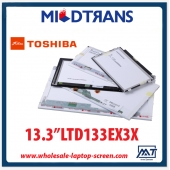 "China Laptop parts wholesale 13.3"" TOSHIBA CCFL backlight notebook computer LCD display LTD133EX3X factory"
