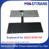 China PO Laptop Keyboard for ASUS X550 factory