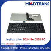 China PO Laptop Keyboard for TOSHIBA C850-Fabrik