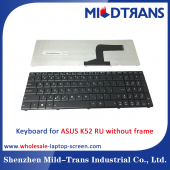 China RU Laptop Keyboard for ASUS K52  without frame factory