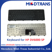 China SP Laptop Keyboard for HP DV6000 factory