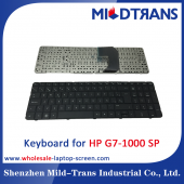 China SP Laptop Keyboard for HP G7-1000 factory