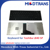 China SP Laptop Keyboard for Toshiba L840-Fabrik