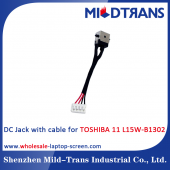 China Toshiba 11 L15W-B1302 Laptop DC Jack factory