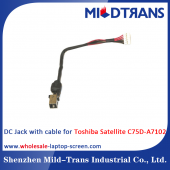 China Toshiba Satellite C75D-A7102 Laptop DC Jack factory