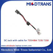China Toshiba t235 Laptop DC Jack factory