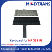 China UI Laptop Keyboard for HP G32 factory