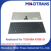 China UI Laptop Keyboard für Toshiba R700-Fabrik