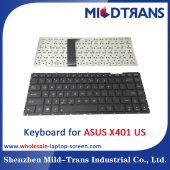 China US Laptop Keyboard for ASUS X401 factory