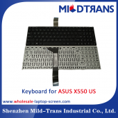 China US Laptop Keyboard for ASUS X550 factory