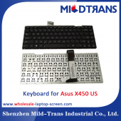 China US Laptop Keyboard for Asus X450 factory
