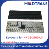 China US Laptop Keyboard for HP G6-2200 factory