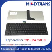 China US-Laptop-Tastatur für Toshiba S50-Fabrik