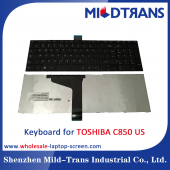 China US-Laptop-Tastatur für Toshiba C850-Fabrik
