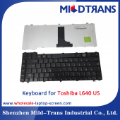 China US-Laptop-Tastatur für Toshiba L640-Fabrik