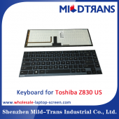 China US-Laptop-Tastatur für Toshiba Z830-Fabrik